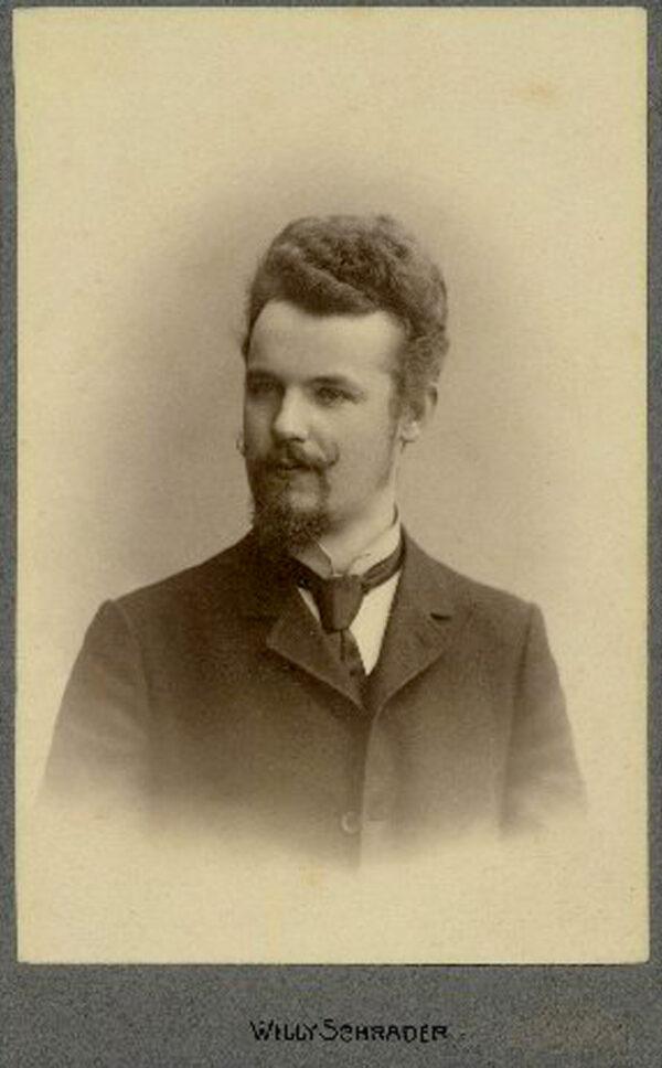 Eduards Bīriņš, photographed about 1910.